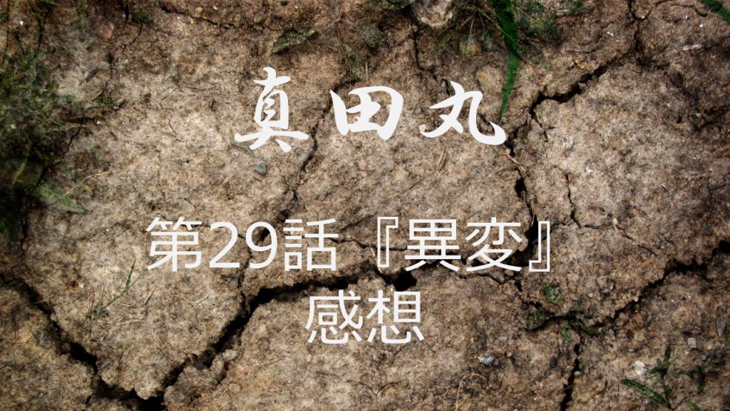 真田丸感想第29話「異変」