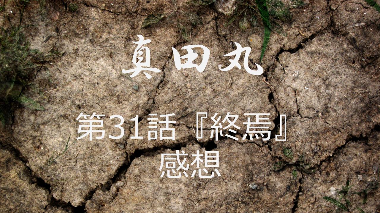 真田丸感想第31話「終焉」