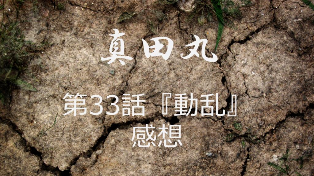 真田丸感想第33話「動乱」