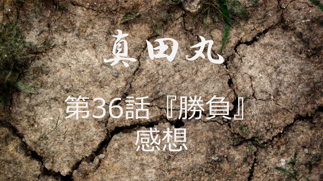 真田丸感想第36話「勝負」