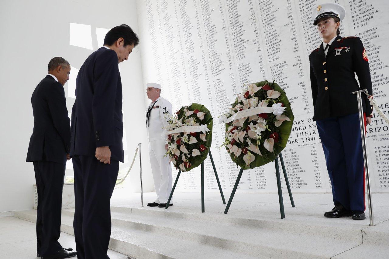 安倍首相の真珠湾訪問
