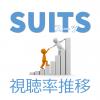 「SUITS/スーツ」視聴率一覧表&グラフ推移