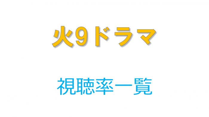 火9ドラマ【僕キセ】 視聴率比較