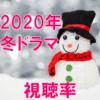 2020冬ドラマ 視聴率一覧表&グラフ推移